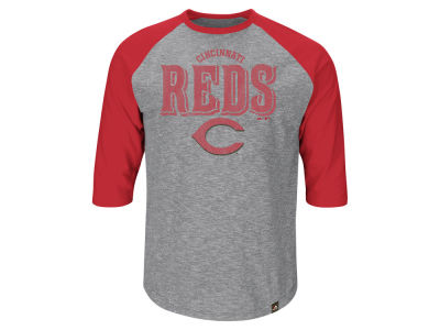 Cincinnati Reds MLB Men's Fast Win Raglan T-Shirt
