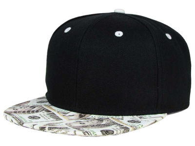 No Bad Ideas Straight Cash Snapback Hat