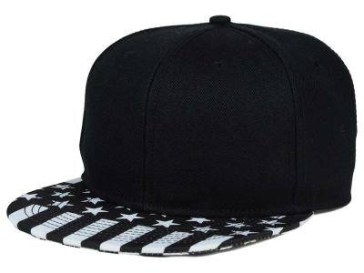 No Bad Ideas Flag Black Snapback Hat
