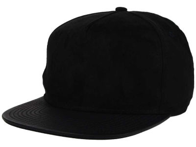 No Bad Ideas Sueded 5 Panel Snapback Hat