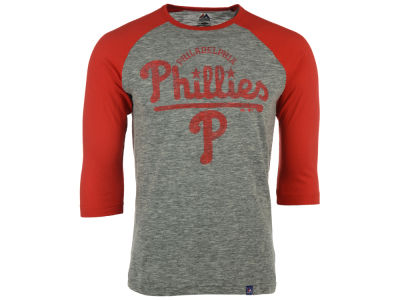 Philadelphia Phillies MLB Men's Fast Win Raglan T-Shirt