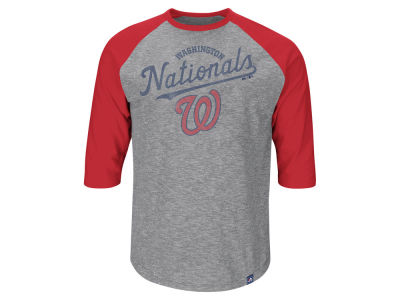 Washington Nationals MLB Men's Fast Win Raglan T-Shirt