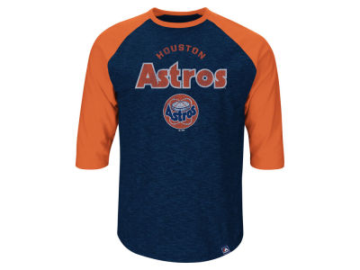 Houston Astros Craig Biggio Majestic MLB Men's Player Tactics Raglan T-Shirt