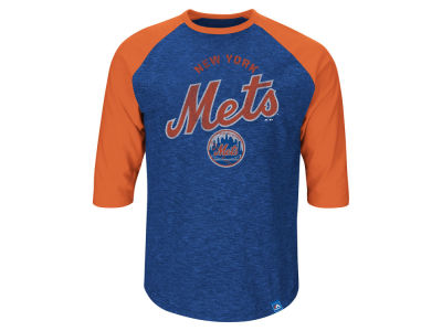 New York Mets Darryl Strawberry MLB Men's Player Tactics Raglan T-Shirt