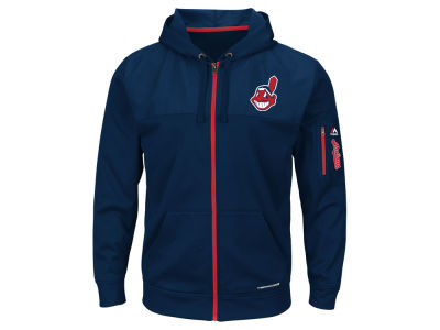 Cleveland Indians MLB Men's Payback Moment Full Zip Fleece Hoodie