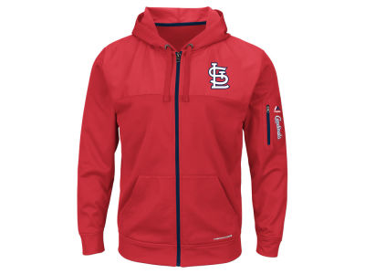 St. Louis Cardinals MLB Men's Payback Moment Full Zip Fleece Hoodie