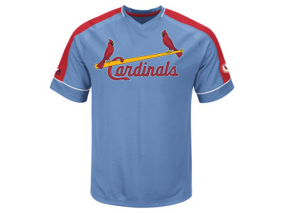 St. Louis Cardinals Majestic MLB Men's Coop Winning Tandem T-Shirt