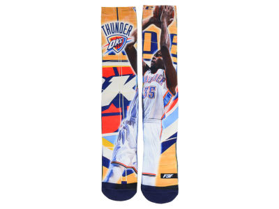 Oklahoma City Thunder Kevin Durant For Bare Feet NBA Player Center Court Socks