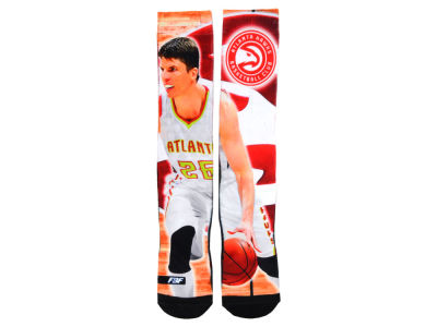 Atlanta Hawks Kyle Korver NBA Player Center Court Socks