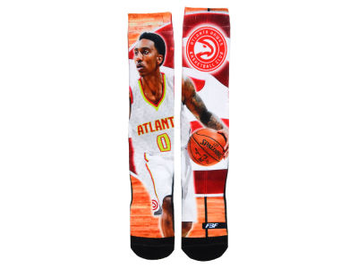 Atlanta Hawks Jeff Teague NBA Player Center Court Socks