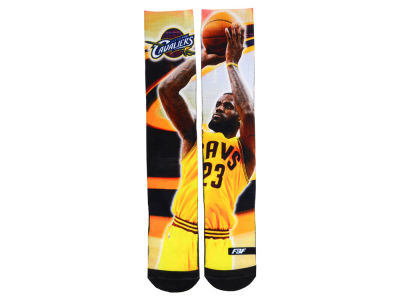 Cleveland Cavaliers LeBron James NBA Player Center Court Socks