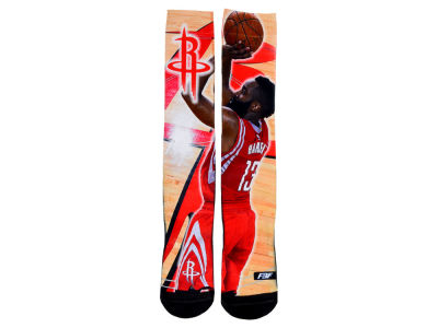 Houston Rockets James Harden NBA Player Center Court Socks