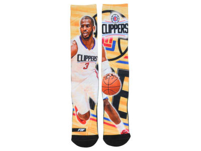 Los Angeles Clippers Chris Paul For Bare Feet NBA Player Center Court Socks