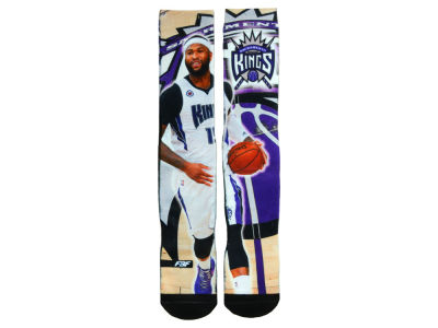 Sacramento Kings DeMarcus Cousins NBA Player Center Court Socks