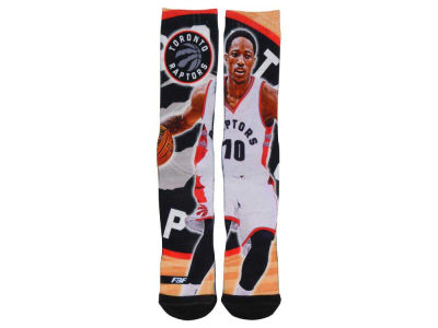 Toronto Raptors DeMar DeRozan NBA Player Center Court Socks