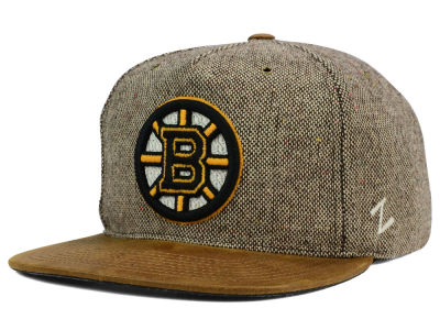 Boston Bruins Zephyr NHL Dapper Snapback Hat