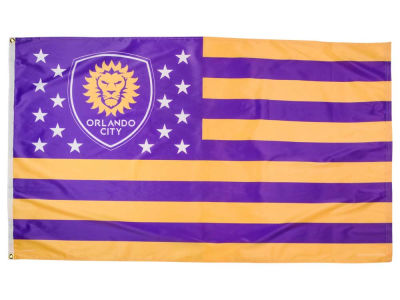 Orlando City SC 3x5 Flag - Stars & Stripes