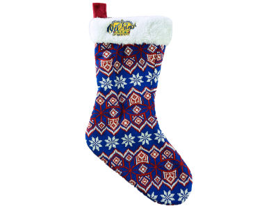 Edmonton Oil Kings Ugly Sweater Knit Team Stocking