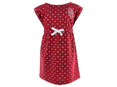 Oklahoma Sooners NCAA Toddler Girls Heartbeat Dress