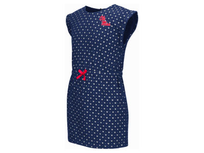 Ole Miss Rebels NCAA Toddler Girls Heartbeat Dress