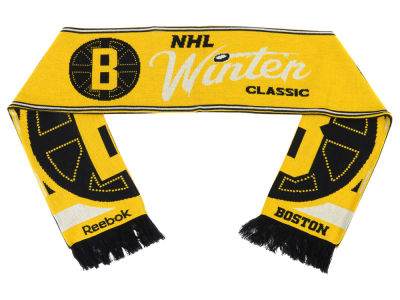 Boston Bruins NHL 2016 Winter Classic Jacquard Scarf