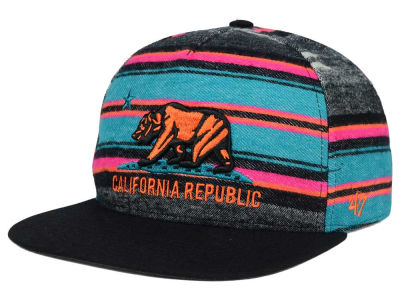 '47 Cal Chapparal Stripe Snapback Hat