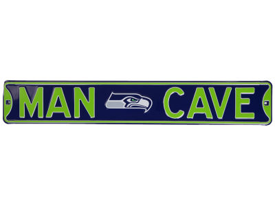 Seattle Seahawks Authentic Street Signs Authentic Street Sign Man Cave