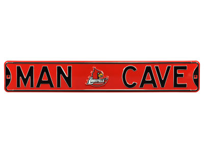 Louisville Cardinals Authentic Street Sign Man Cave