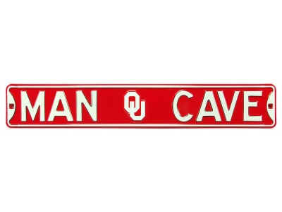 Oklahoma Sooners Authentic Street Sign Man Cave