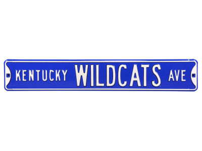 Kentucky Wildcats Authentic Street Sign
