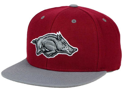Arkansas Razorbacks Top of the World NCAA Devout Snapback Cap