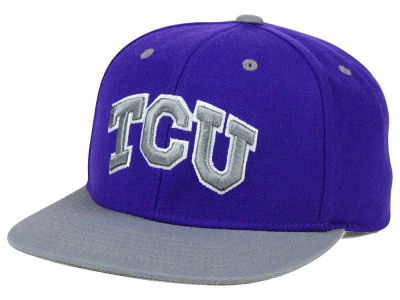 Texas Christian Horned Frogs Top of the World NCAA Devout Snapback Cap