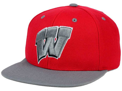 Wisconsin Badgers Top of the World NCAA Devout Snapback Cap