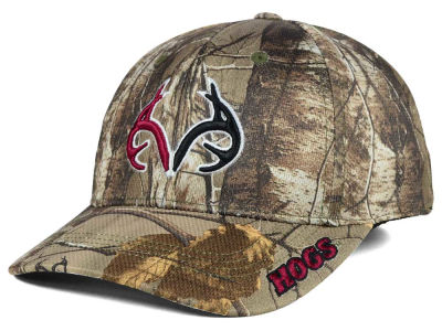 Arkansas Razorbacks Top of the World NCAA Realtree XB1 Camo Cap