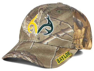 Baylor Bears Top of the World NCAA Realtree XB1 Camo Cap