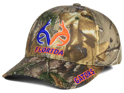 Florida Gators Top of the World NCAA Realtree XB1 Camo Cap