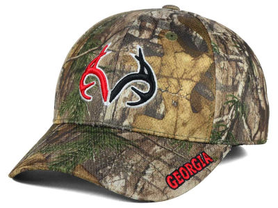 Georgia Bulldogs Top of the World NCAA Realtree XB1 Camo Cap