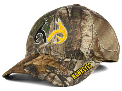 Iowa Hawkeyes Top of the World NCAA Realtree XB1 Camo Cap