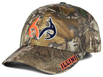 Illinois Fighting Illini Top of the World NCAA Realtree XB1 Camo Cap