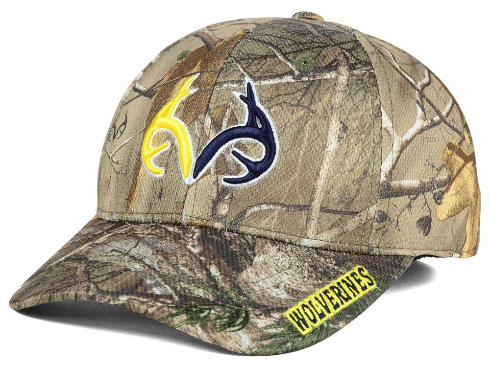 wholesale dealer b5337 63b35 ... germany michigan wolverines top of the world ncaa realtree xb1 camo cap  08053 a46f5