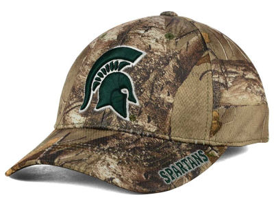 Michigan State Spartans Top of the World NCAA Realtree XB1 Camo Cap