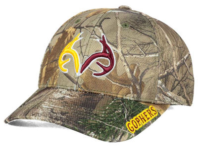 Minnesota Golden Gophers Top of the World NCAA Realtree XB1 Camo Cap