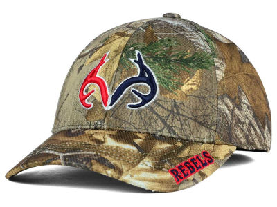 Ole Miss Rebels Top of the World NCAA Realtree XB1 Camo Cap