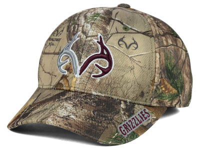 Montana Grizzlies Top of the World NCAA Realtree XB1 Camo Cap