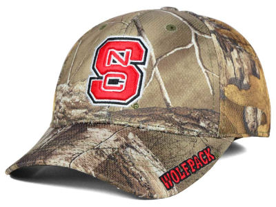North Carolina State Wolfpack Top of the World NCAA Realtree XB1 Camo Cap