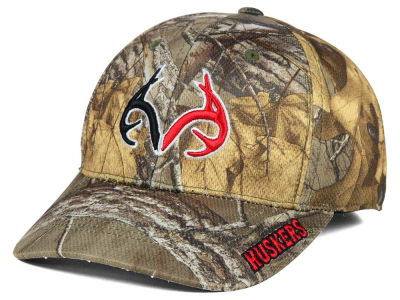 Nebraska Cornhuskers Top of the World NCAA Realtree XB1 Camo Cap