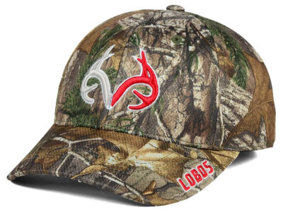 New Mexico Lobos Top of the World NCAA Realtree XB1 Camo Cap