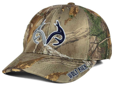 Nevada Wolf Pack Top of the World NCAA Realtree XB1 Camo Cap