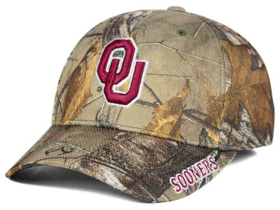Oklahoma Sooners Top of the World NCAA Realtree XB1 Camo Cap