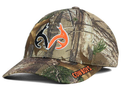 Oklahoma State Cowboys Top of the World NCAA Realtree XB1 Camo Cap